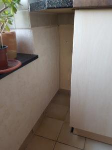 Ungenutzte Nische in der Küche