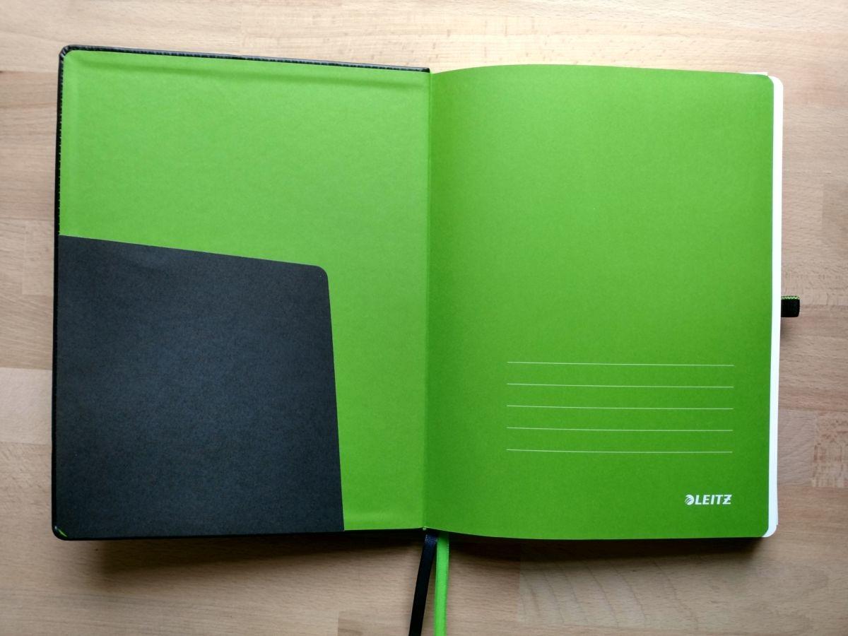 Leitz Complete Notizbuch Innen vorne