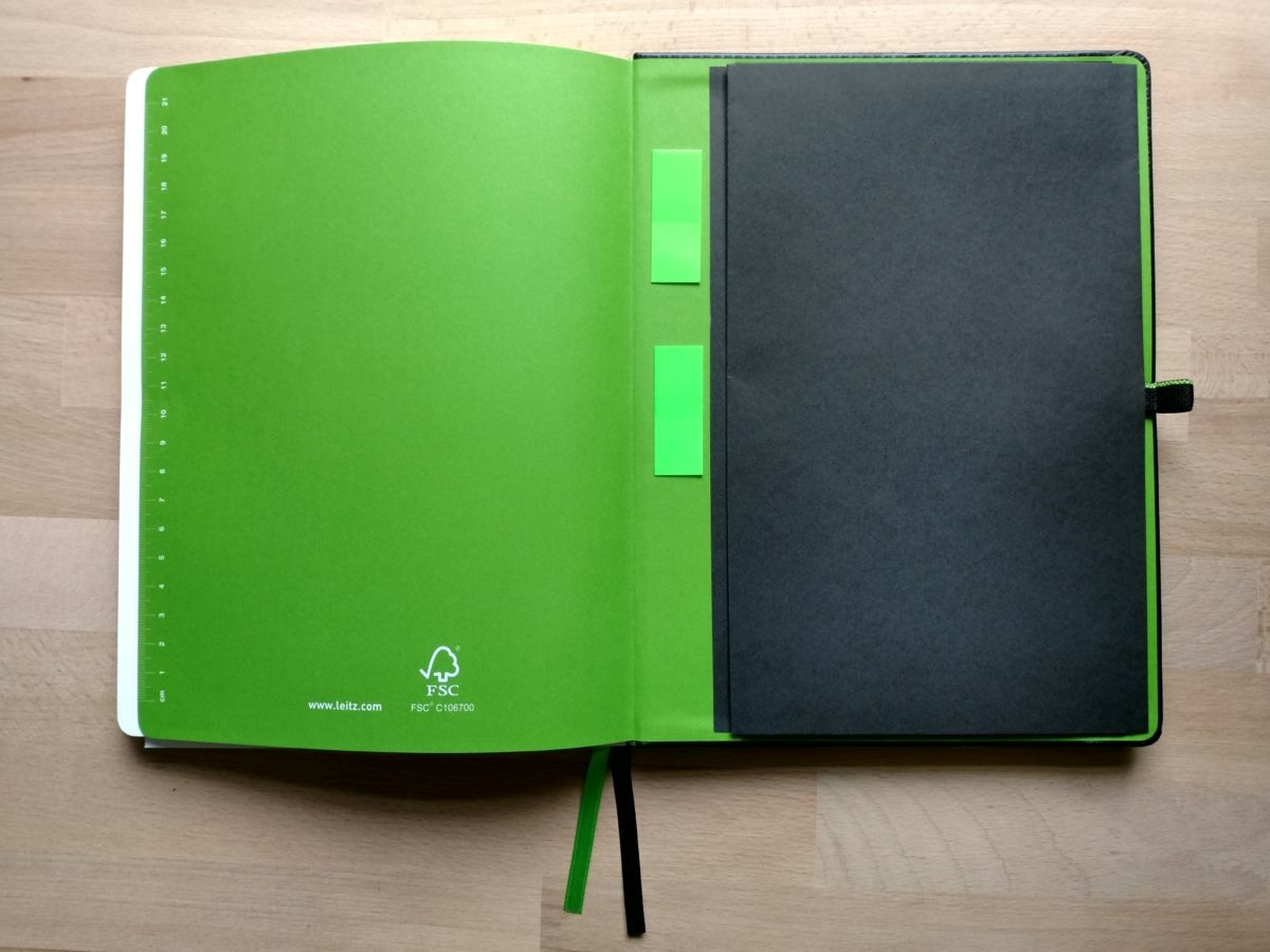 Leitz Complete Notizbuch Innen hinten