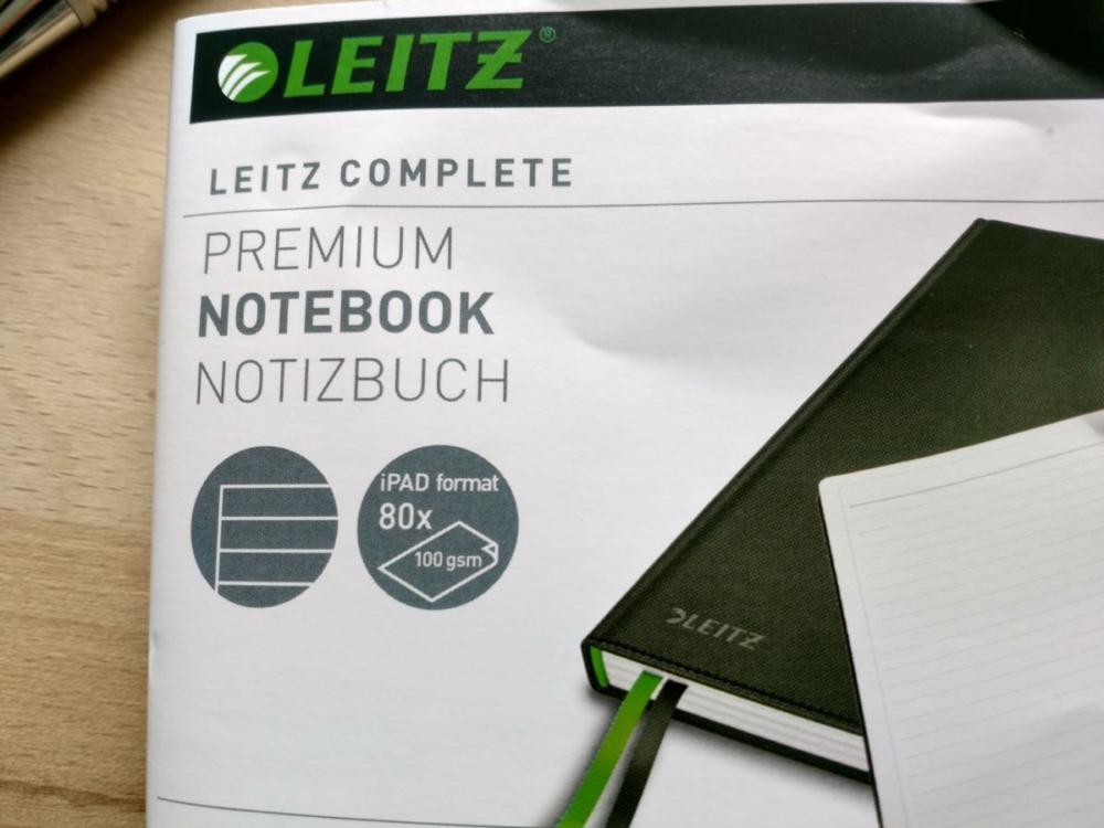 Leitz Complete Notizbuch 100g