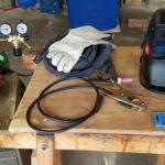 Equipment zum WIG-Schweißen