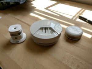 devolo Rauchmelder Vergleich Asus und Fibaro Smoke Sensor