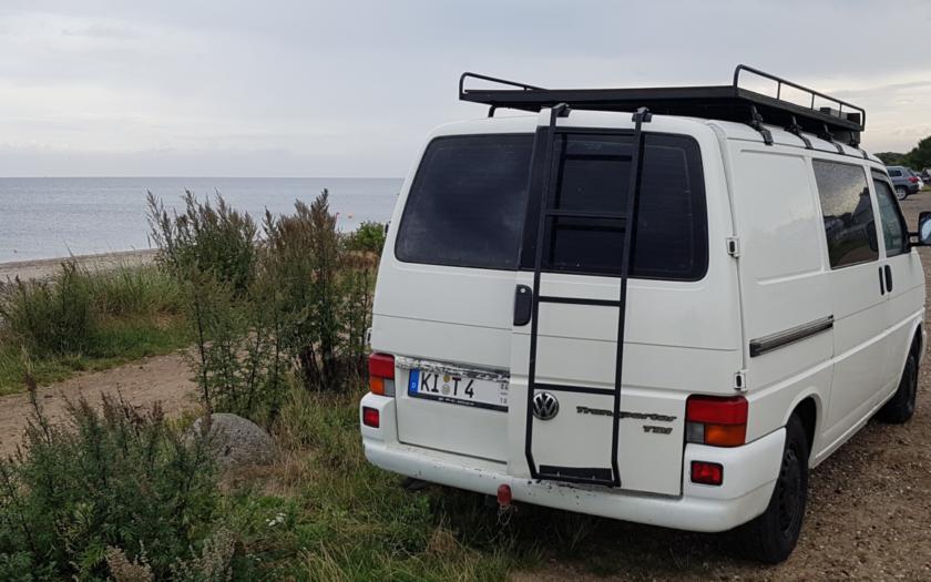 Heckleiter für VW T4 selber bauen