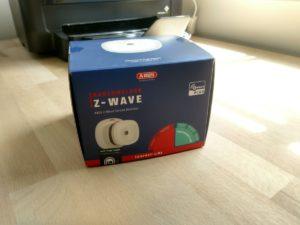 Abus Rauchmelder mit Z-Wave Verpackung