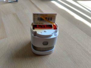 Abus Rauchmelder mit Z-Wave CR123a Batterie